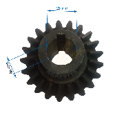 Pinion conic Z21