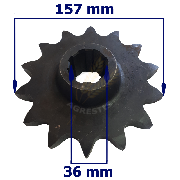 Pinion inferior Z14